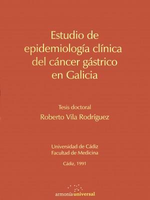 Portada Estudio de epidemiología clínica del cáncer gástrico en Galicia