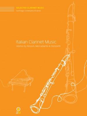 Italian Clarinet Music for clarinet and piano.